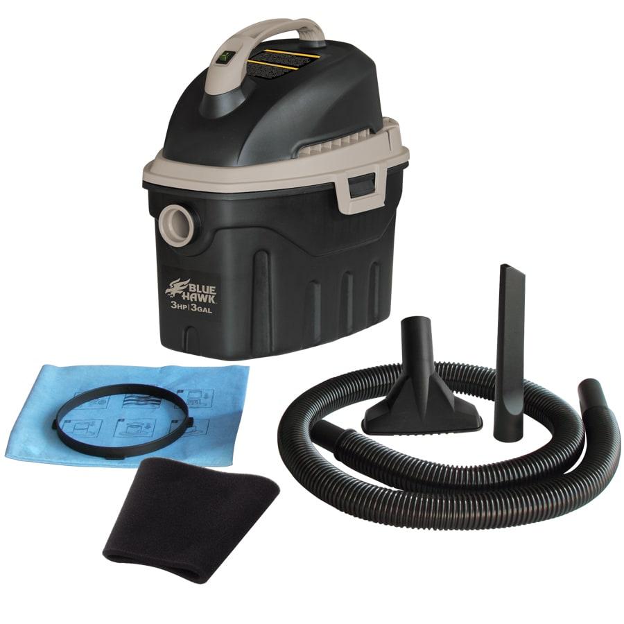 Blue Hawk 3-Gallon 3-Peak HP Shop Vacuum