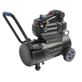 Kobalt 8 Gallon Portable 150 Electric Horizontal Air