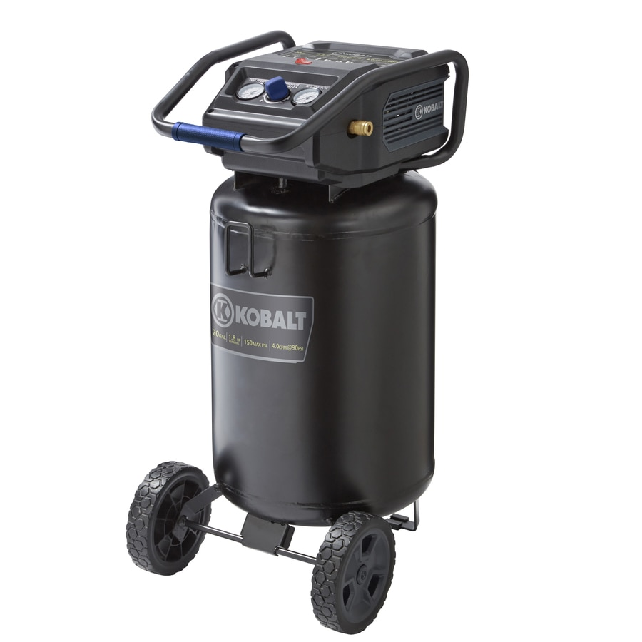 Kobalt 20 Gallon Portable Electric Vertical Air Compressor