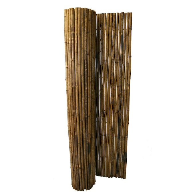 Backyard X-Scapes 5-ft x 5-ft Carbonized Bamboo No Dig ...