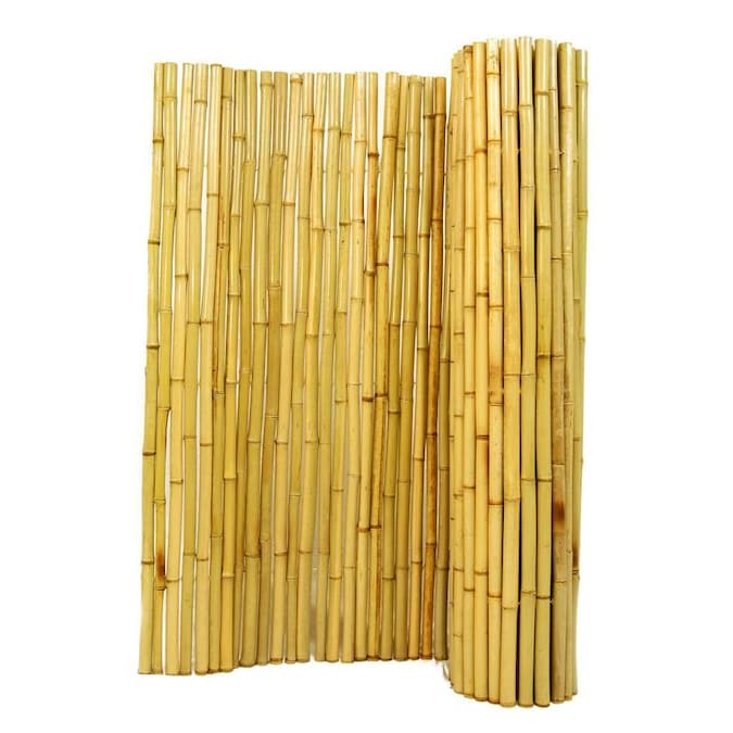 Backyard X Scapes Rolled Bamboo Fence