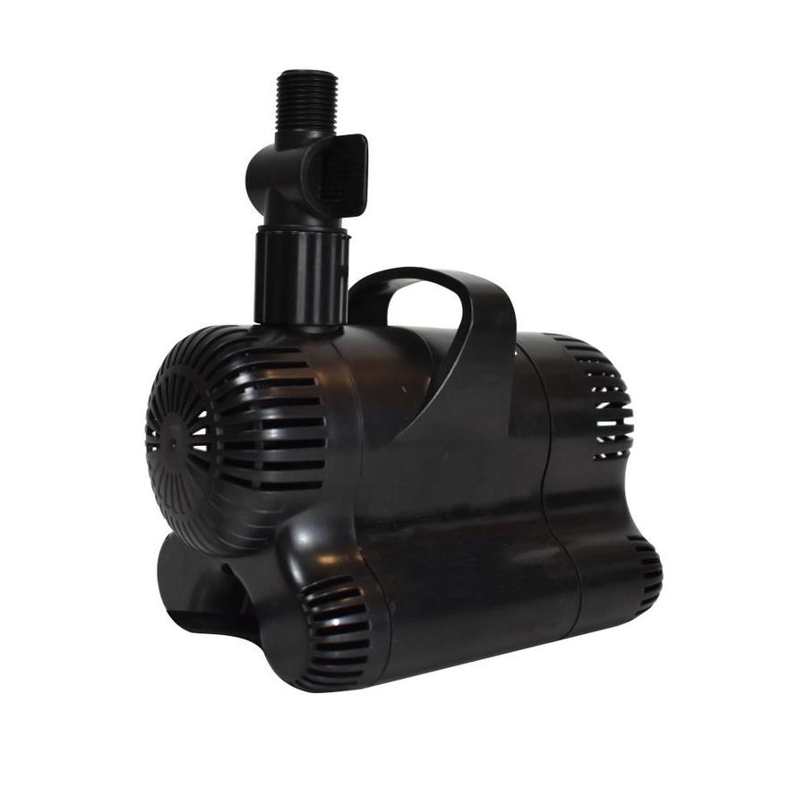 Shop smartpond 700 gph submersible pond pump at for Pond pump placement
