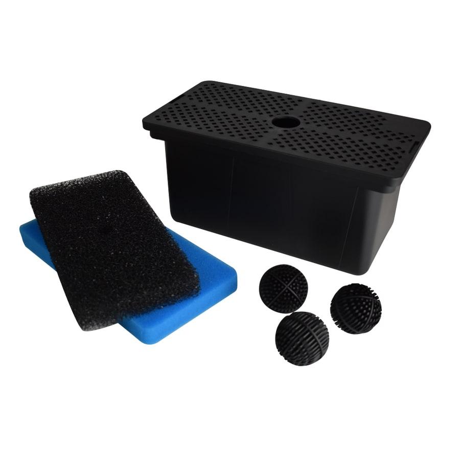 Shop smartpond black pond filters at for Charcoal pond filter