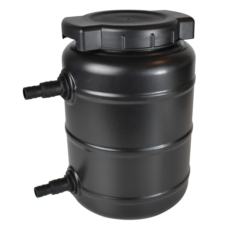 Shop smartpond black pond filters at for Outside pond filter