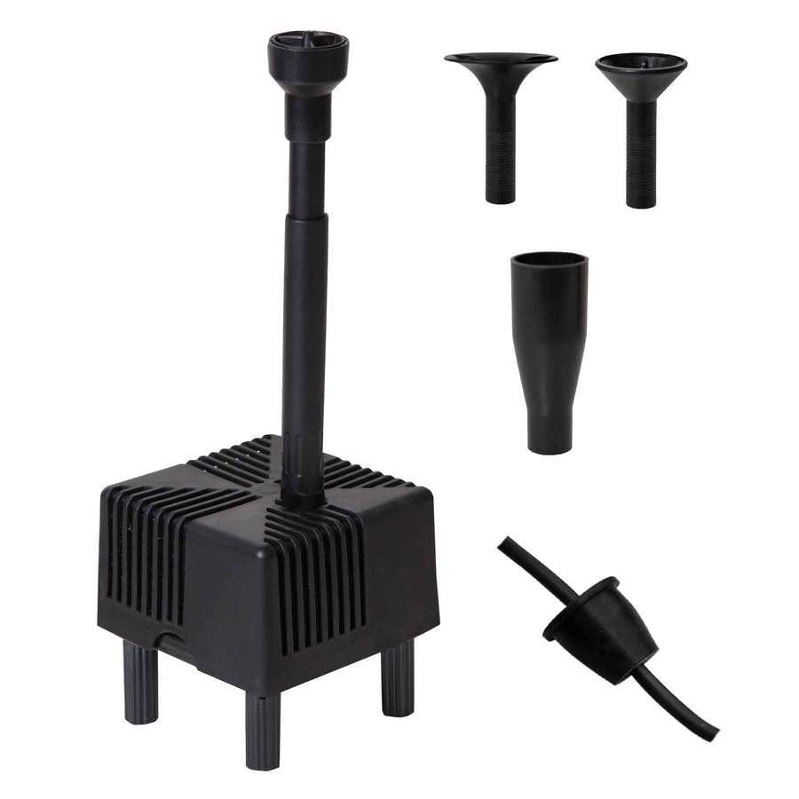 Shop smartpond container fountain kit at for Garden fountain filters