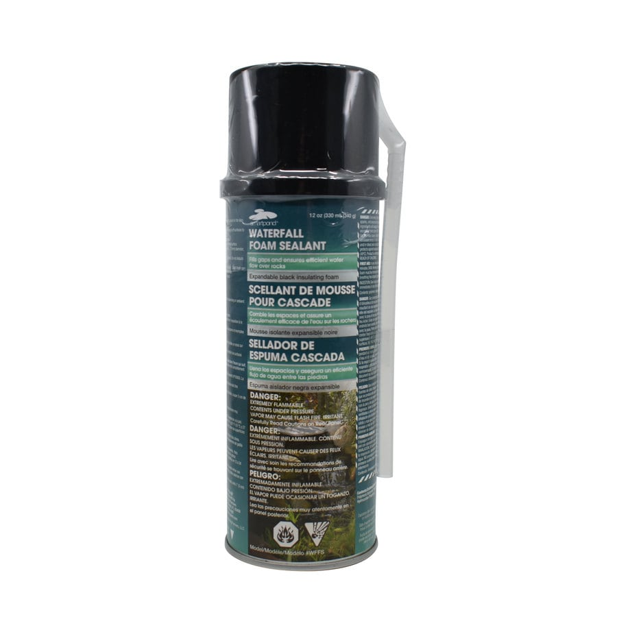 Shop smartpond black pond foam sealer at for Koi pond sealer