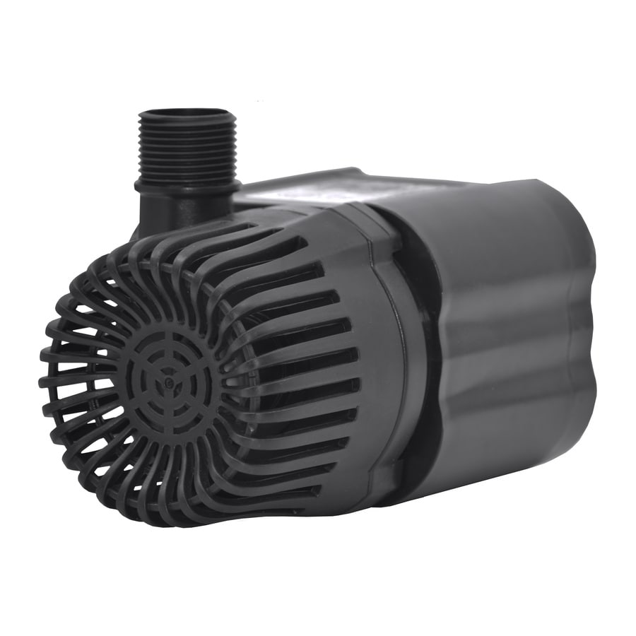 Shop smartpond 1200 gph submersible waterfall pump at for Pond pump placement