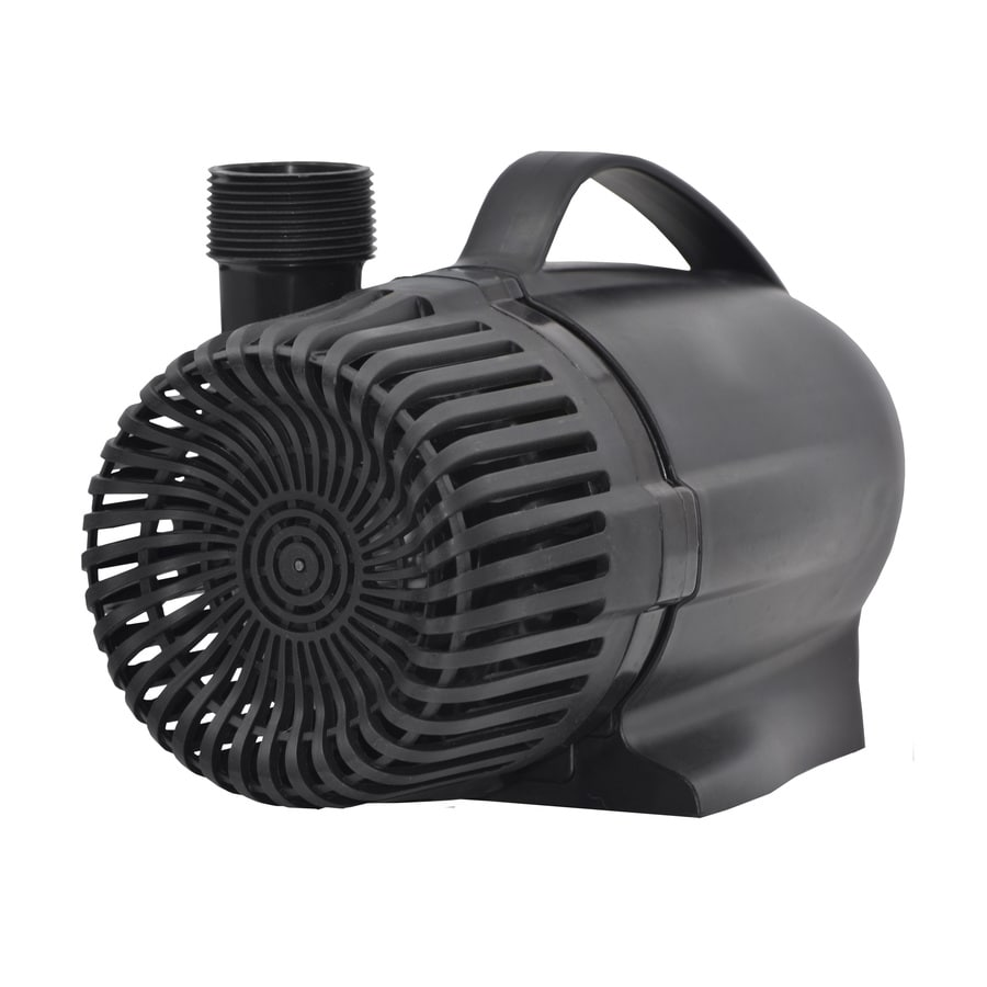 Shop smartpond 2000 gph submersible waterfall pump at for Pond waterfall pump