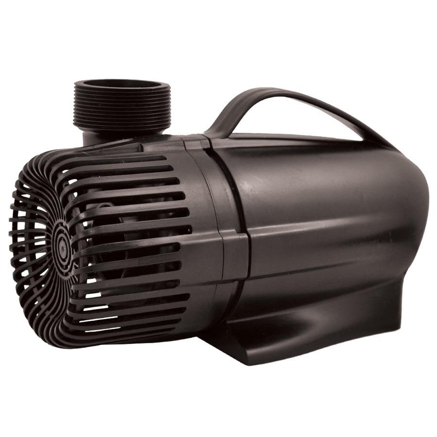 Shop smartpond 5100 gph submersible waterfall pump at for Pond waterfall pump