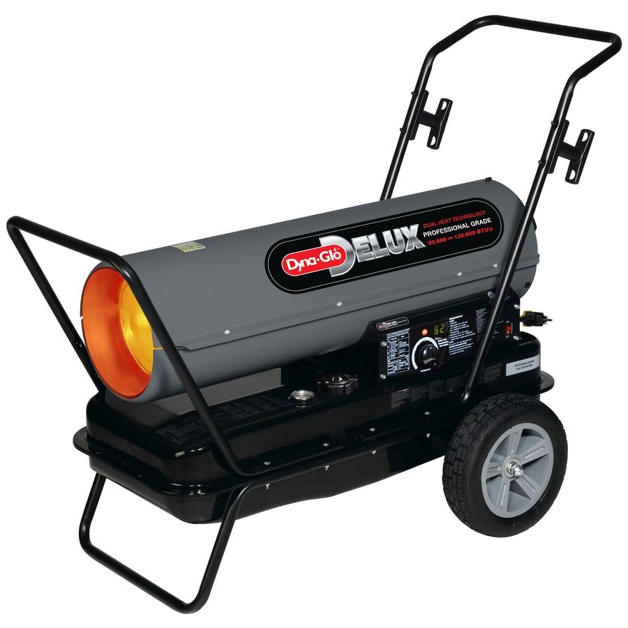 Dyna Glo Delux 135,000 BTU Portable Kerosene Heater
