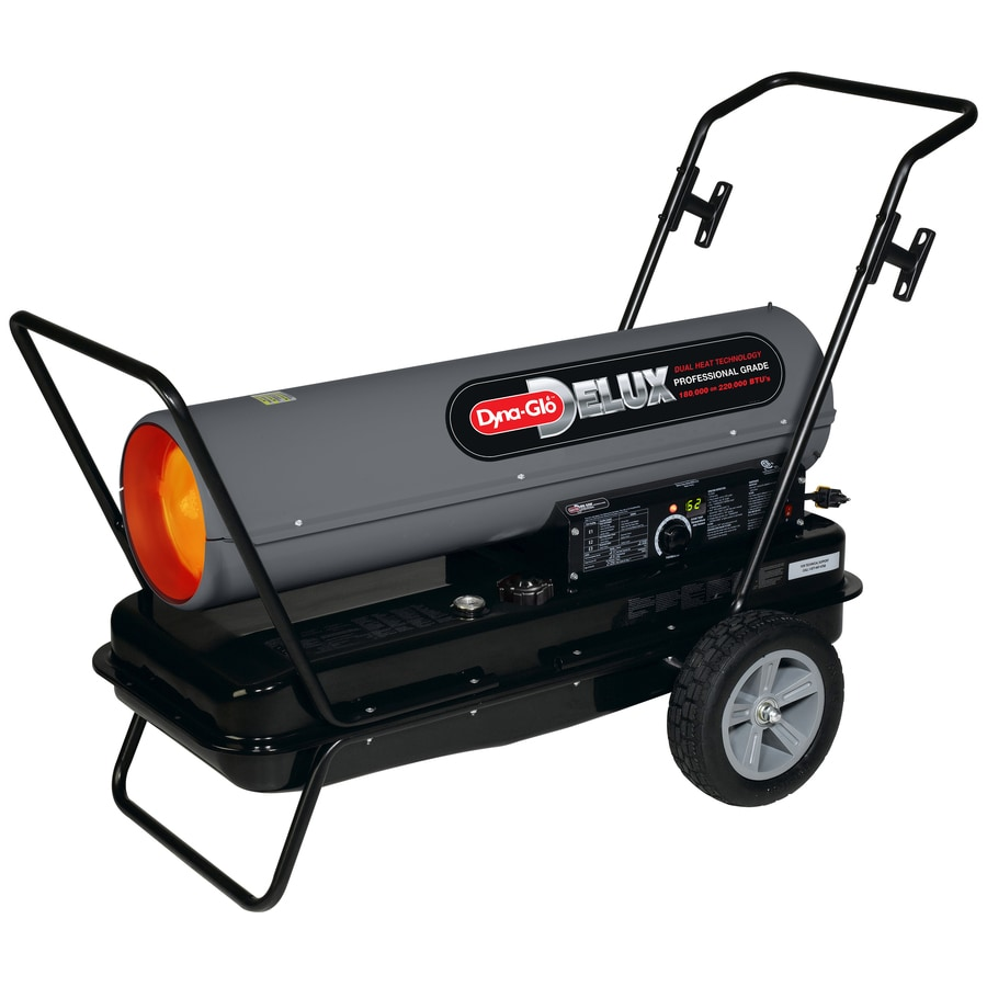 Shop Dyna Glo Delux 220000 Btu Portable Kerosene Heater At
