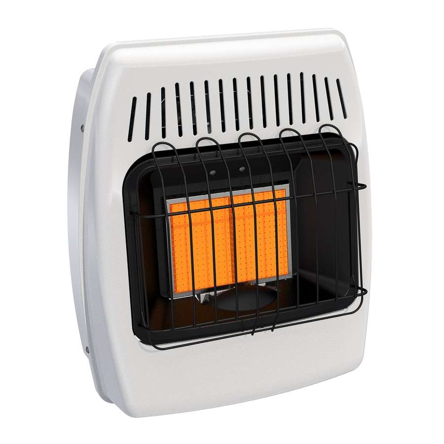 Shop Dyna-Glo 12,000-BTU Floor or Wall-Mount Liquid Propane Vent-Free Infrared Heater at Lowes.com