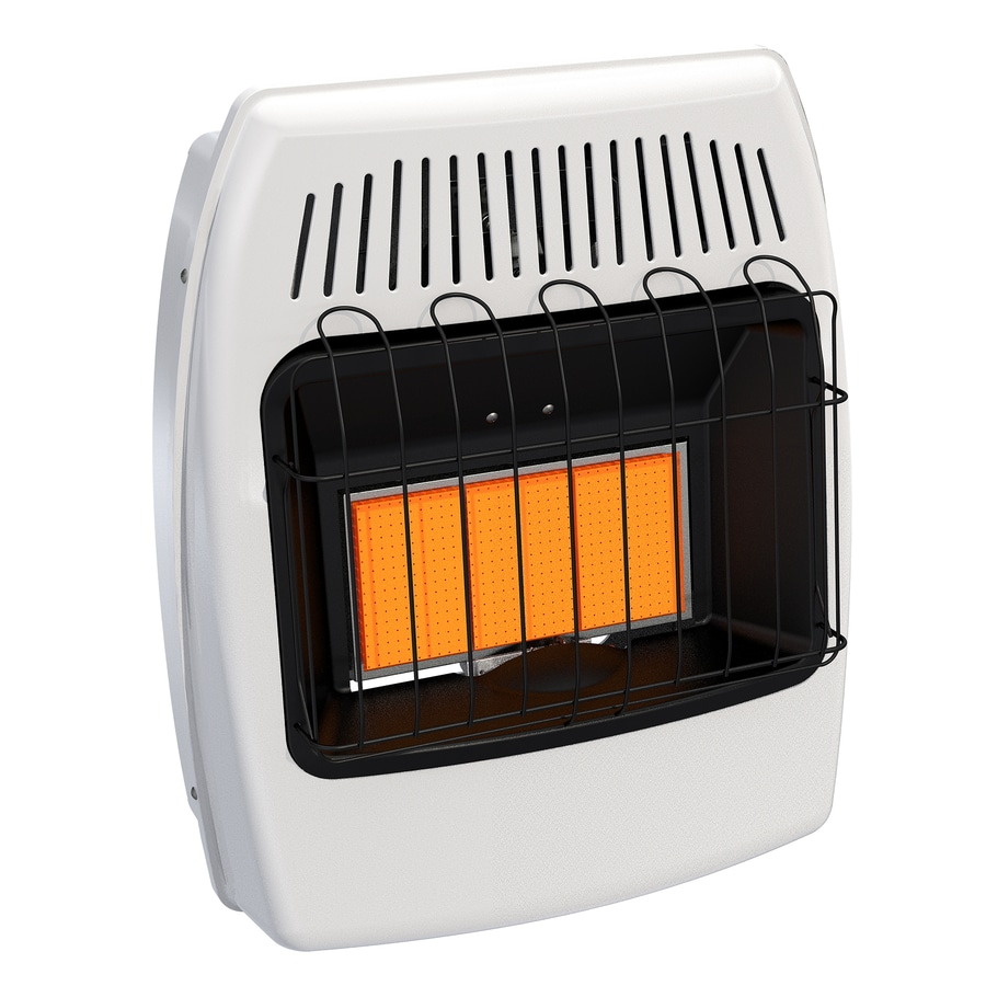 Shop Dyna-Glo 18,000-BTU Floor or Wall-Mount Natural Gas Vent-Free Infrared Heater at Lowes.com