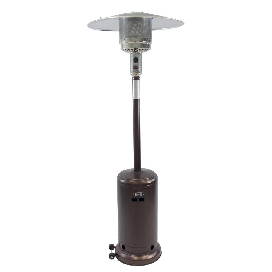 Dyna-Glo 41,000-BTU Hammered Bronze Steel Floorstanding Liquid Propane Patio Heater