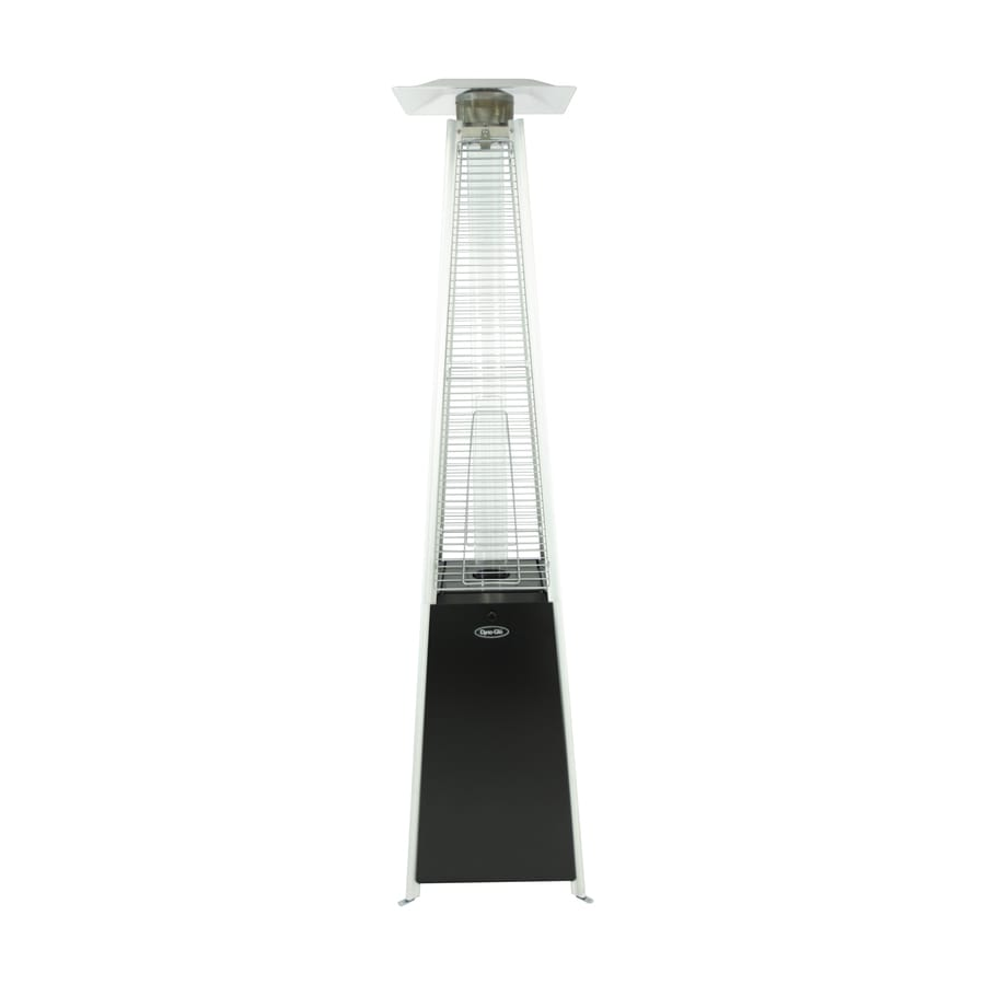 Dyna-Glo 42000-BTU Black Steel Floorstanding Liquid Propane Patio Heater