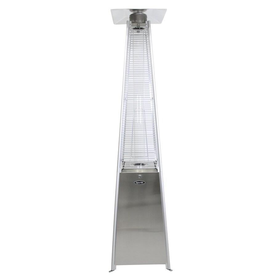 Dyna-Glo 42000-BTU Stainless Steel Floorstanding Liquid Propane Patio Heater