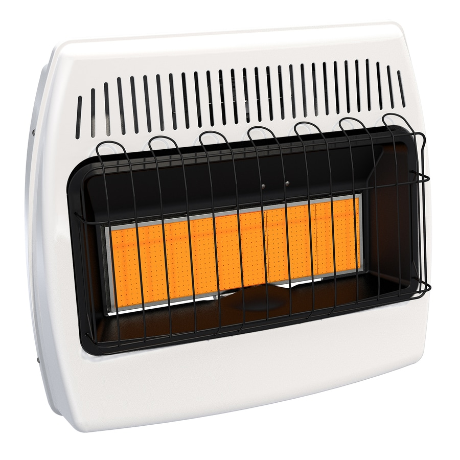 Bathroom Wall Heaters Electric Lowes: Shop Dyna-Glo 30,000-BTU Wall Or Floor-Mount Liquid
