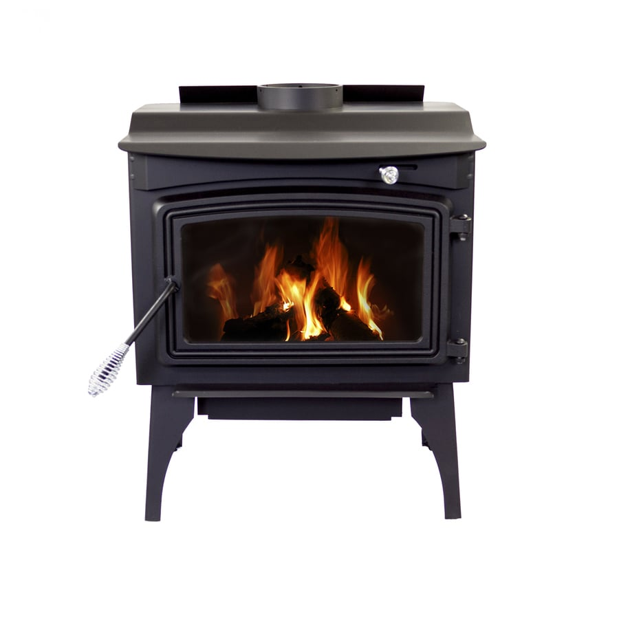 Shop Pleasant Hearth 1800-sq ft Wood Burning Stove at Lowes.com