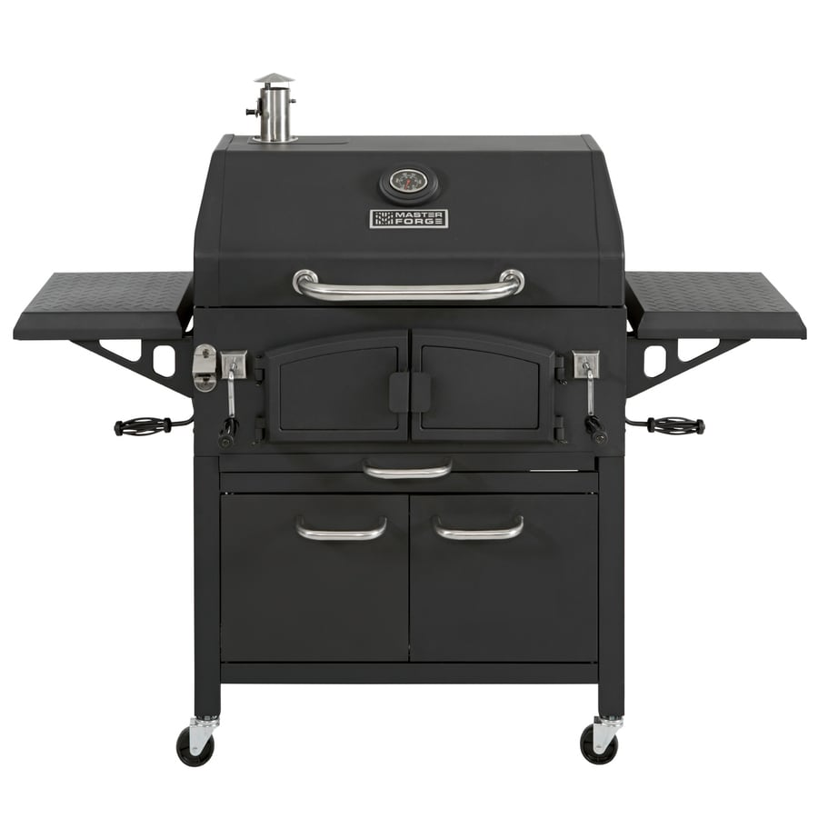 Shop Master Forge Master Forge 32-in Charcoal Grill at ...