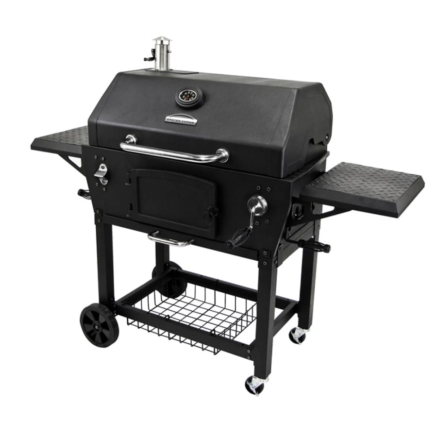 Shop Master Forge Dually Charcoal Grill At Lowes.com
