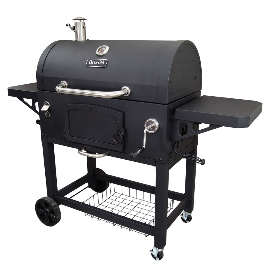 shop dyna glo 32 in barrel charcoal grill at. Black Bedroom Furniture Sets. Home Design Ideas