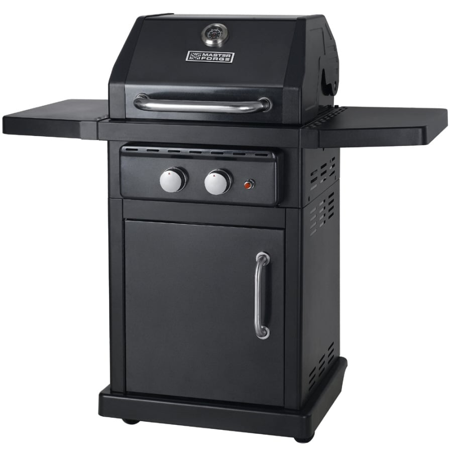 superior Master Forge Grill Company Part - 4: Master Forge 2-Burner (30,000-BTU) Liquid Propane Gas Grill