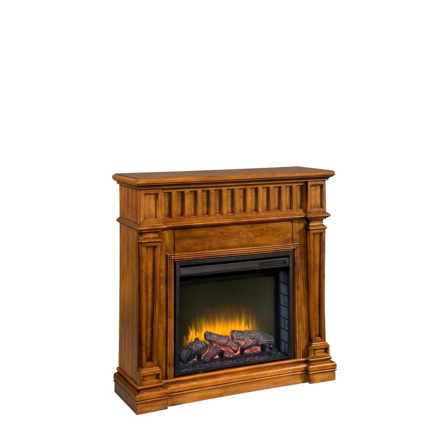 "Shop allen + roth 23"" transitional all-in-one electric fireplace at Lowes.com"