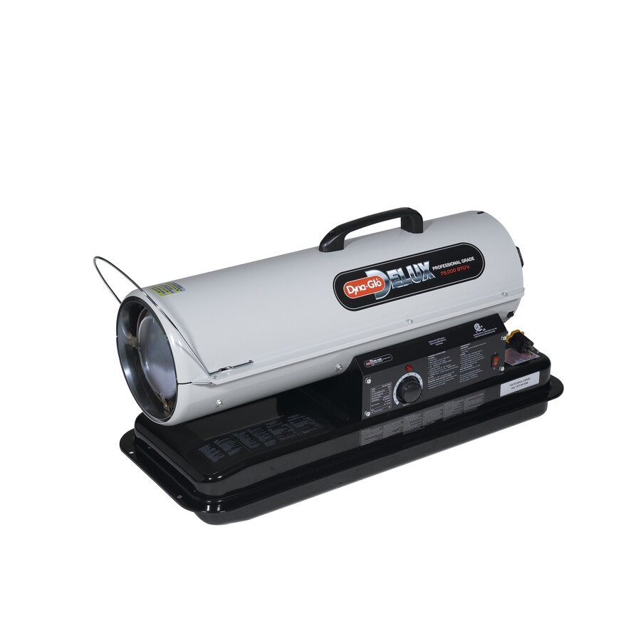 Portable Battery Heater Shop Dyna Glo Delux 75000 Btu Portable Kerosene Heater At Lowescom