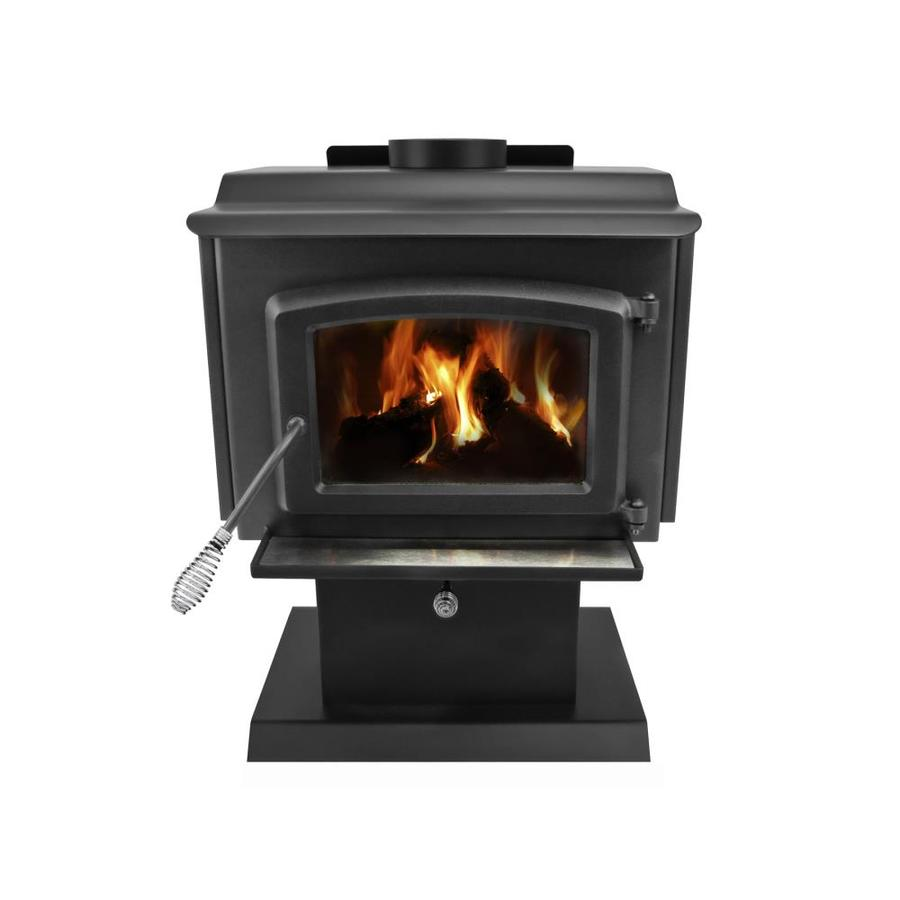 Pleasant Hearth 1,200-sq ft Wood Stove - Shop Wood Stoves & Wood Furnaces At Lowes.com