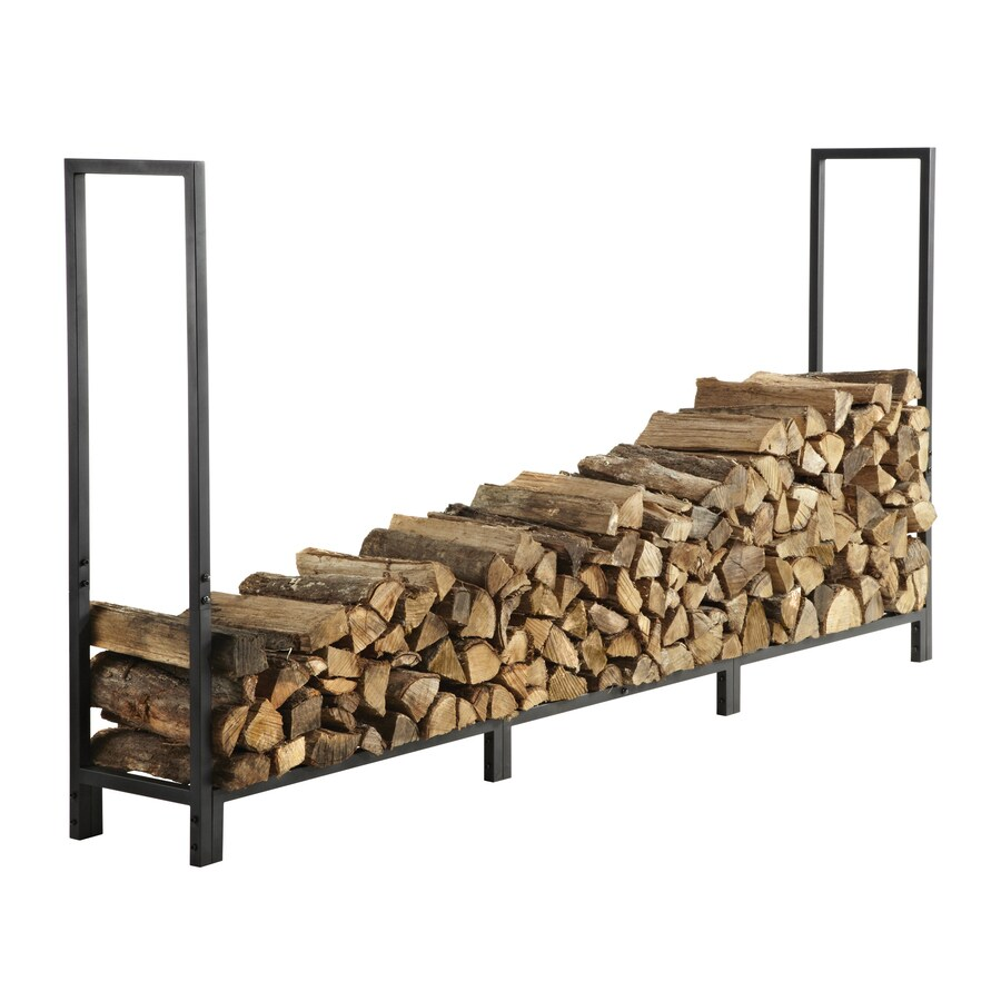 Shop Style Selections 8 Ft Heavy Duty Log Rack At Lowes Com