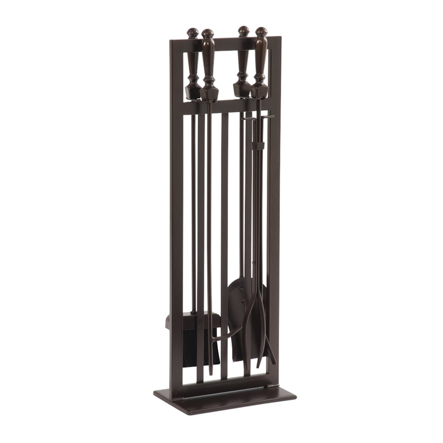 Shop pleasant hearth piece steel fireplace tool set at