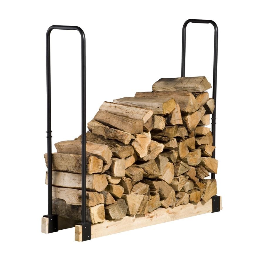 Pleasant Hearth Log Rack Cosmecol