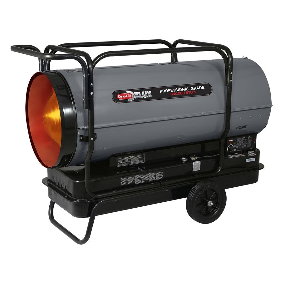 Dyna Glo Delux 650 000 Btu Forced Air Kerosene Heater At