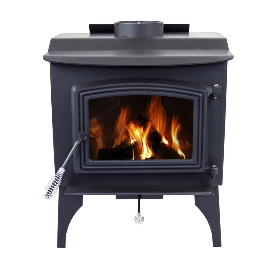 pleasant hearth 1200 sq ft wood burning stove at lowes com rh lowes com