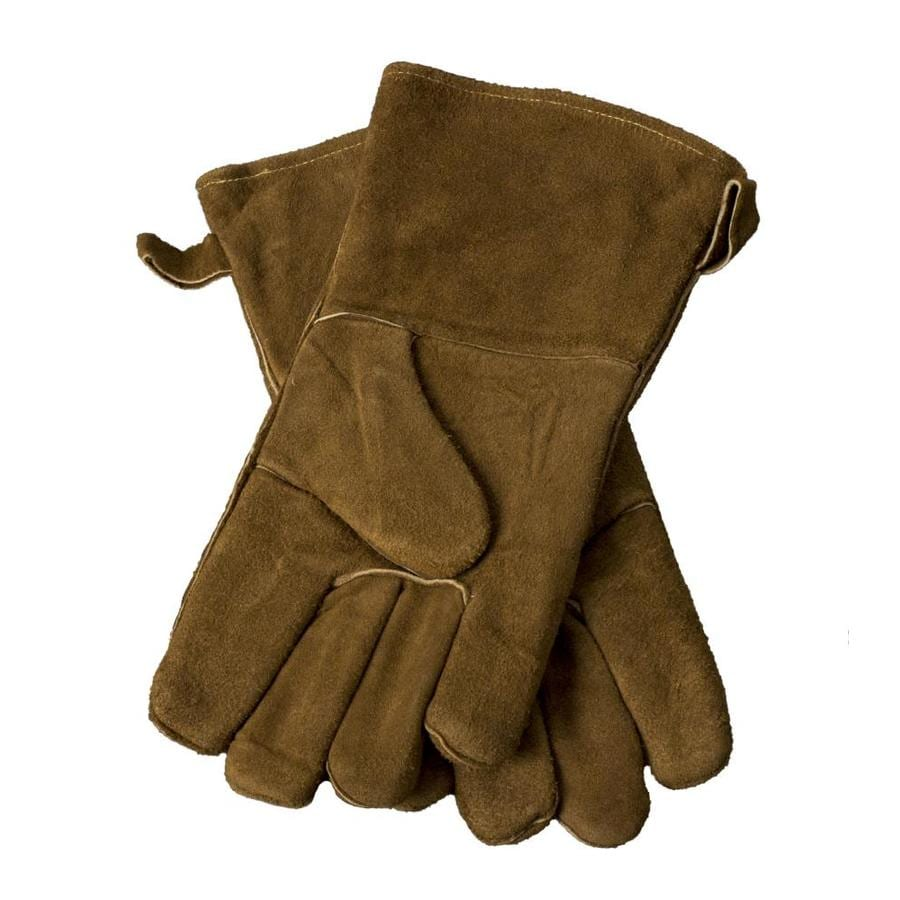 Pleasant Hearth One Size Fits All Unisex Leather Palm Gloves