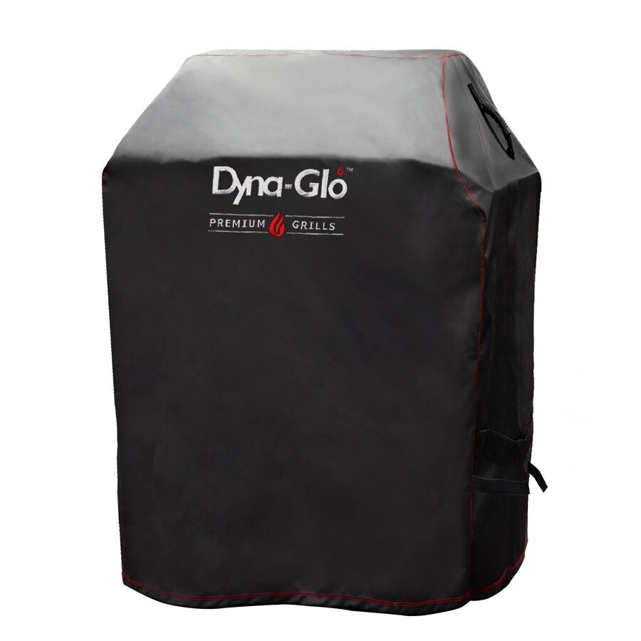 Dyna-Glo 29.61-in x 44.41-in Black Pvc Gas Grill Cover