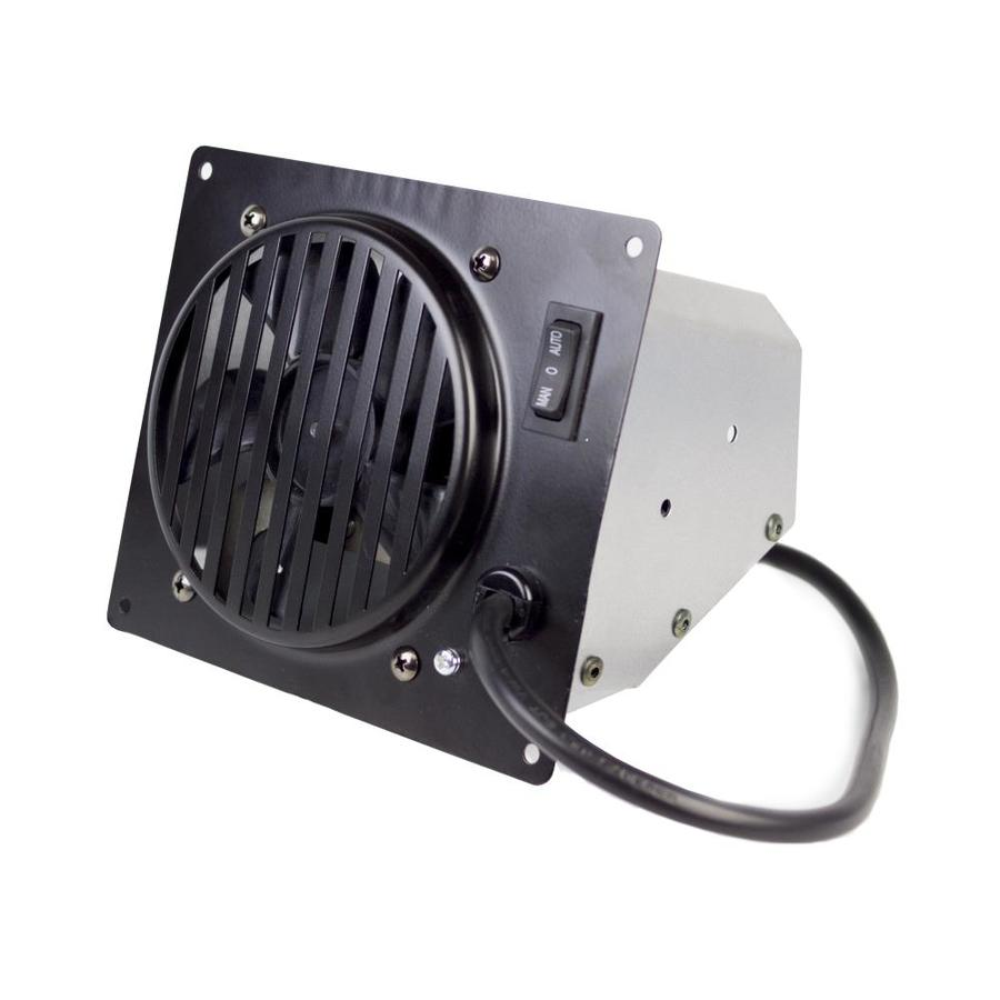 Dyna-Glo Black Steel Freestanding/Wall-Mounted Vent-Free Heater Fan