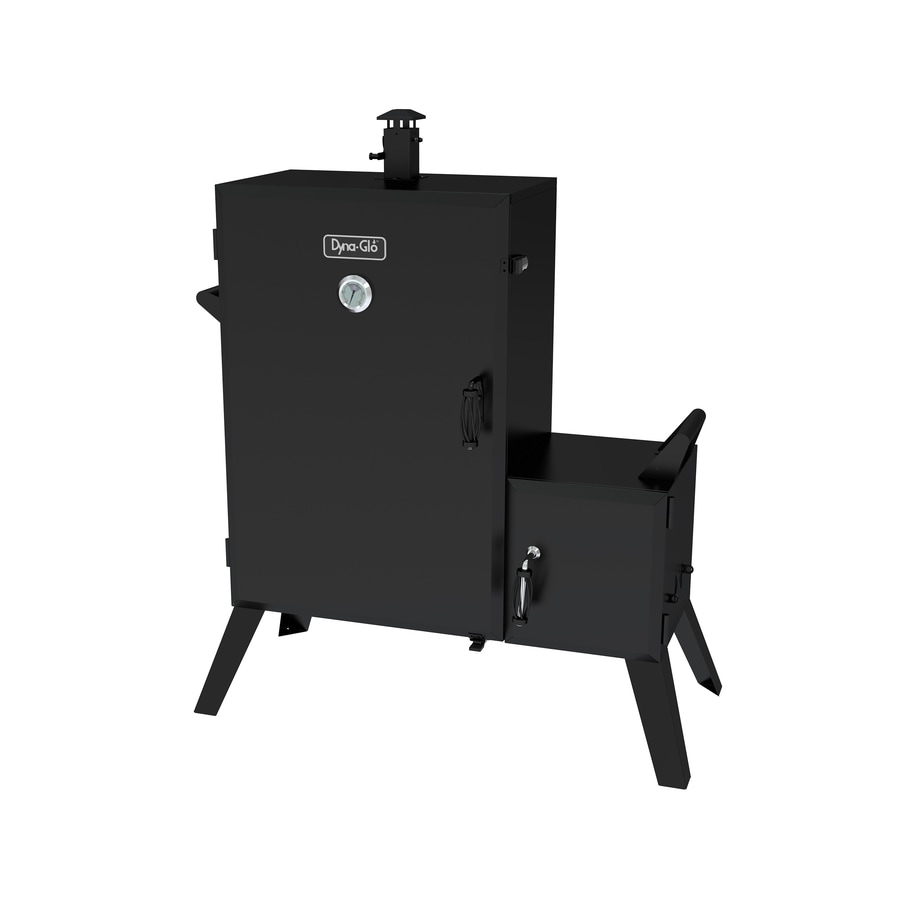 Dyna-Glo 50.2-in H x 43.3-in W 1890-sq in Charcoal Vertical Smoker