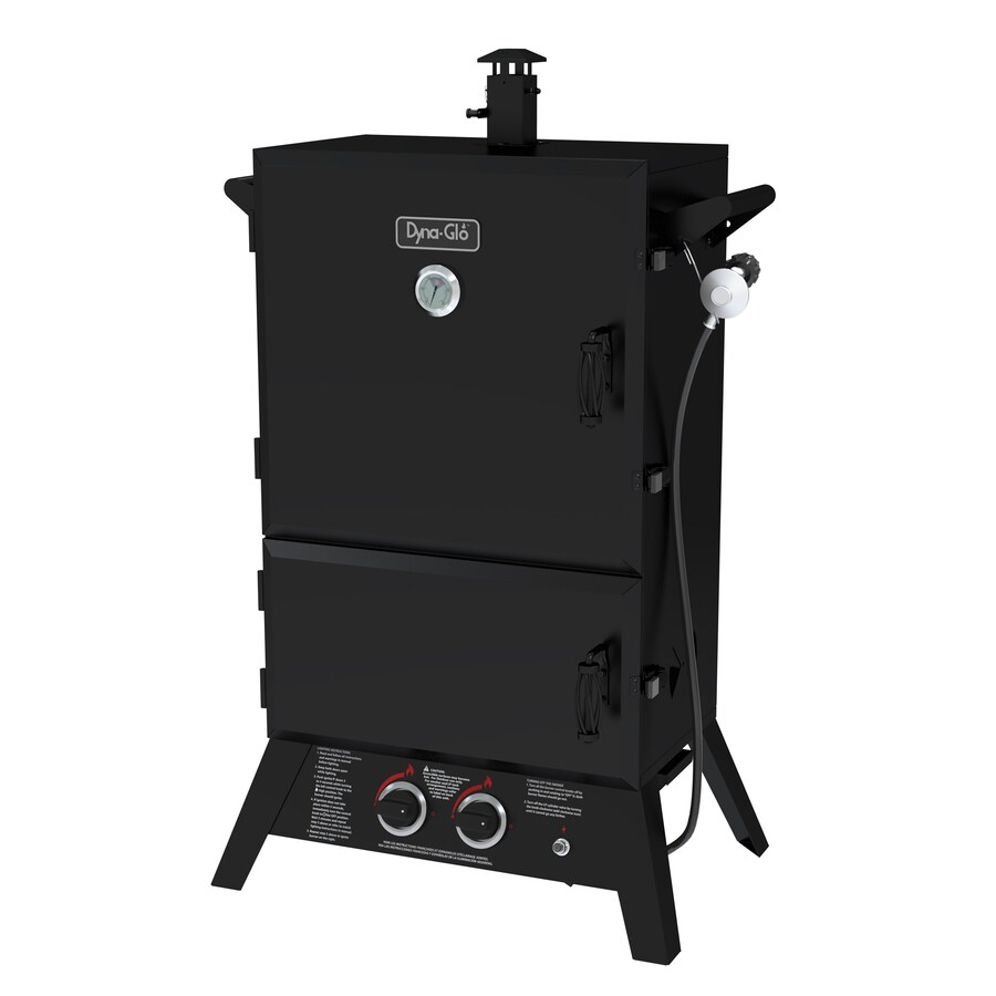 Dyna-Glo 20-lb Cylinder Electronic Ignition Gas Vertical Smoker (Common: 50-in; Actual: 49.71-in)