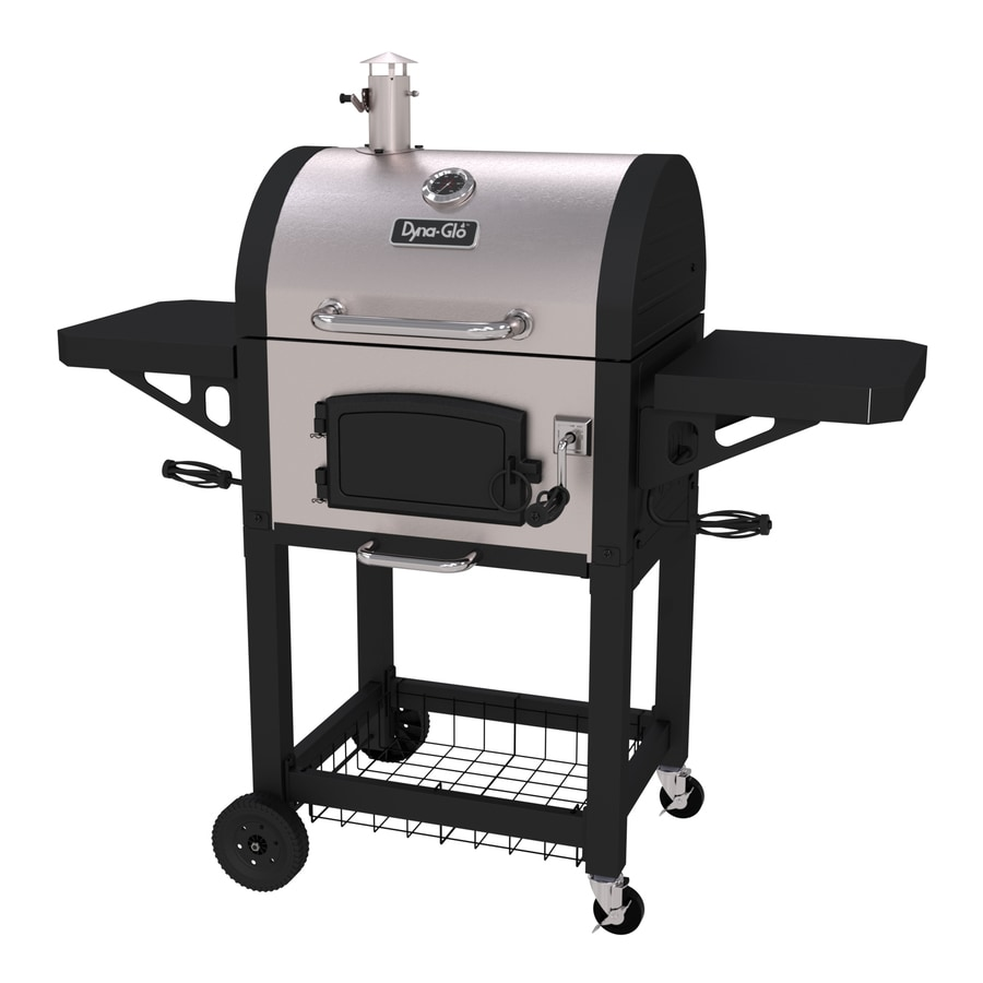 Dyna-Glo 22.5-in Black and Stainless Steel Barrel Charcoal Grill