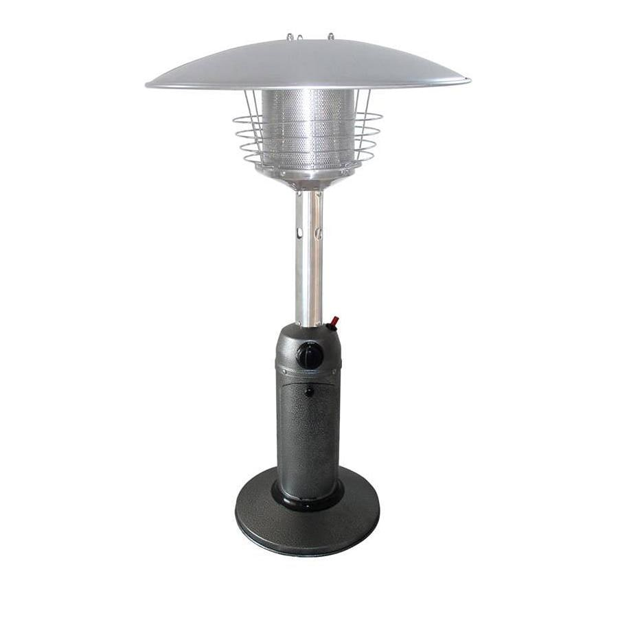Garden Treasures 11,000-BTU Hammered Silver Steel Liquid Propane Patio Heater