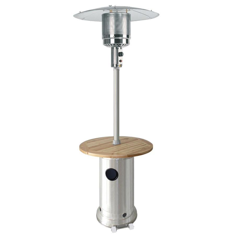 Garden Treasures 41,000-BTU Stainless Steel Liquid Propane Patio Heater