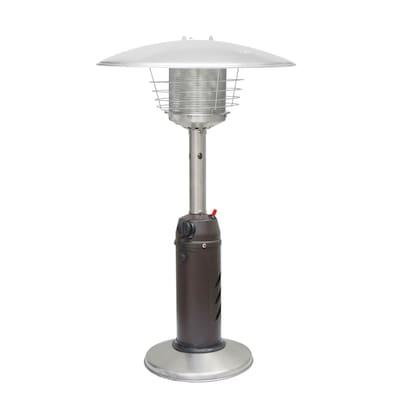 11000 Btu Mocha Steel Liquid Propane Patio Heater