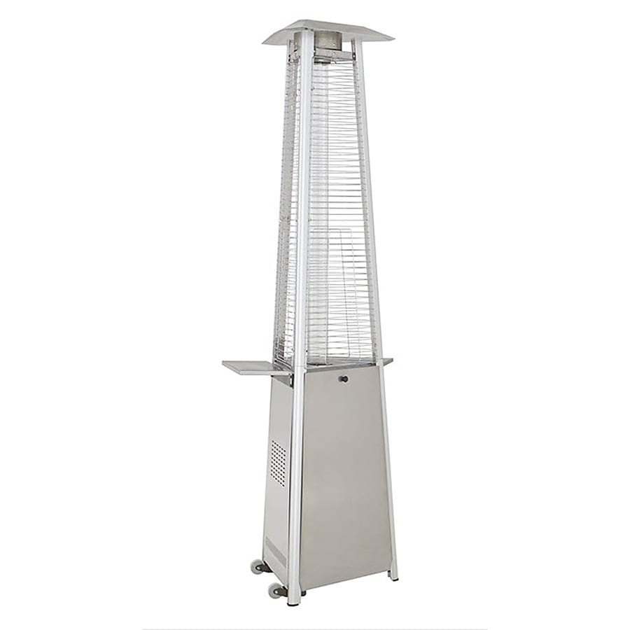 Garden Treasures 38,000-BTU Stainless Steel Liquid Propane Patio Heater