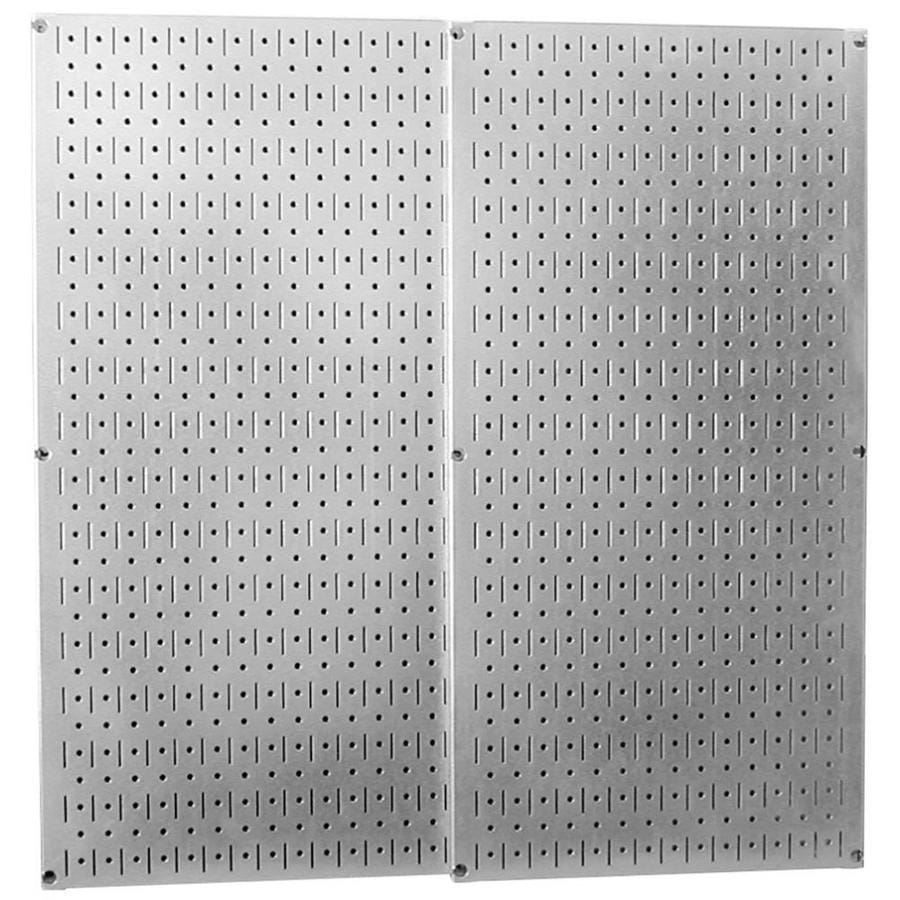 Wall Control 2 Piece Steel Pegboards Actual 16 In X 32 In In The Pegboard Accessories Department At Lowes Com