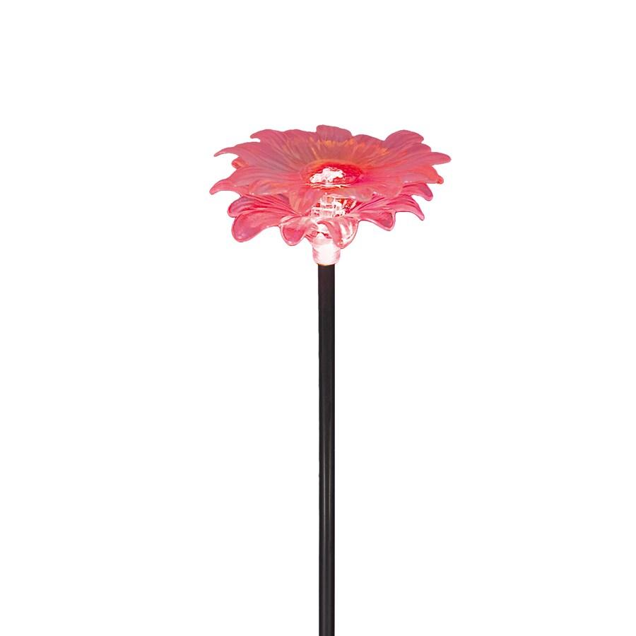 Portfolio 29.2-in Pink Metal Solar Stake