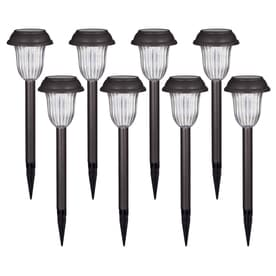Shop Portfolio 8-Light Brown LED Path Light Kit at Lowes.com