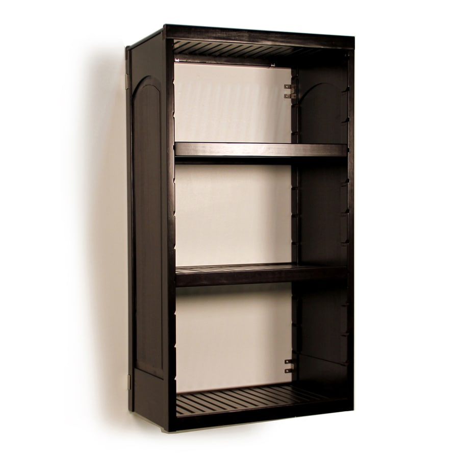 John Louis Home 51 In Espresso Wood Closet Tower