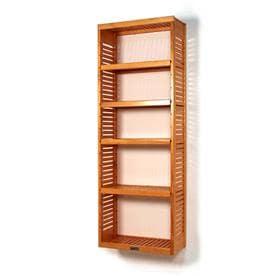 Perfect John Louis Home 2.225 Ft X 72 Ft Honey Maple Wood Closet Kit