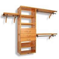 Shop Wood Closet Systems At Lowes Com